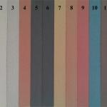 WPC lentu spalvu palete